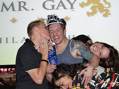 PHOTOS: Meet the First Trans Man Crowned 'Mr. Gay Philadelphia'