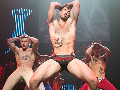 PHOTOS: Broadway Bares Rocks Out with Their Hearts Out