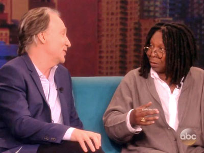 WATCH: Bill Maher Speculates About Karl Rove's 'Murdered Gay Lover' on 'The View'