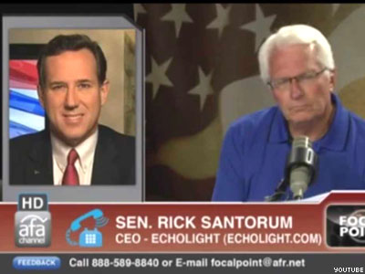 WATCH: Santorum, Others Invoke Nazis in Opposing LGBT Rights