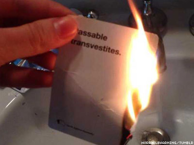 Cards Against Humanity Cocreator Apologizes for 'Transphobic' Card