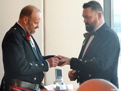 Meet the First Gay Couple Legally Wed in Australia