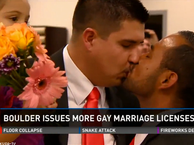 WATCH: Meet Colorado's First Gay Married State Senator