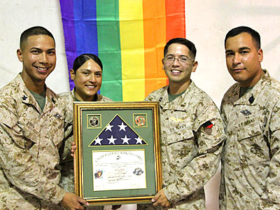 Celebrating LGBT Pride at Camp Leatherneck, Afghanistan