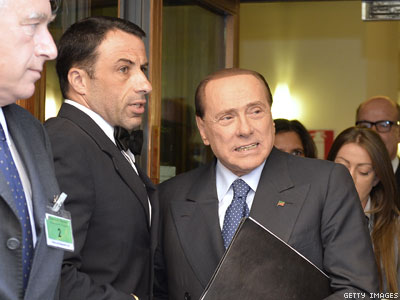 Did Berlusconi's Girlfriend Push Him to Embrace Gay Rights in Italy?