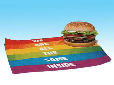 Have It Your Gay at Burger King