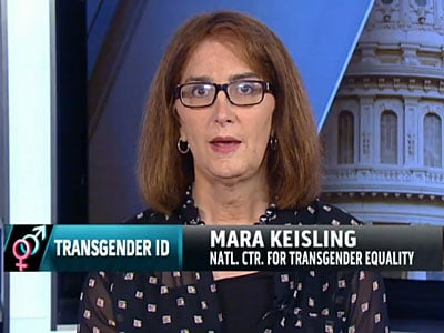 WATCH: Mara Keisling on MSNBC: Trans People Need Proper ID to 'Participate Fully in Society'