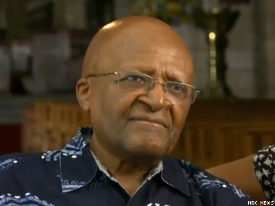 WATCH: Archbishop Desmond Tutu Condemns 'New Apartheid'