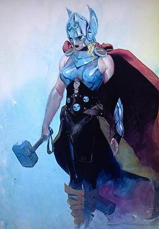 Get Ready to See Thor as You've Never Seen 'Her' Before