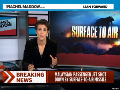 WATCH: Let Rachel Maddow Put This Plane Attack in Eye-Opening Context