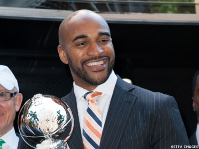 Giants Stand by New Antigay Executive, Super Bowl Champ David Tyree