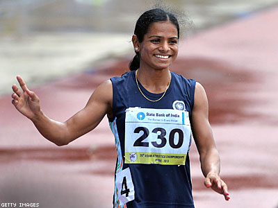 Top Indian Athlete Banned From Competing Over 'Failed' 'Gender Test'