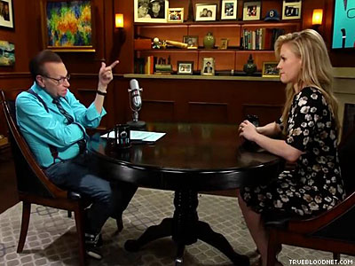 Larry King Is Confused By Anna Paquin's 'Non-Practicing' Bisexuality