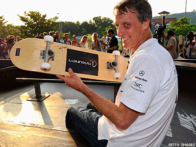 Skating Legend Tony Hawk Supports Marriage Equality