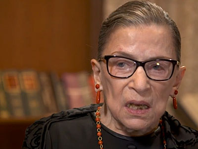 WATCH: Ruth Bader Ginsburg Looks Into Future on Marriage Equality