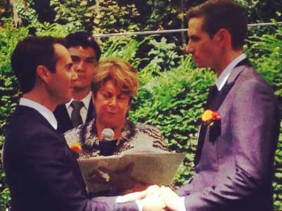 PHOTO: U.S. Ambassador Gets Married in Country Where It Isn't Legal