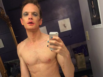 Neil Patrick Harris Shares Naked Backstage Selfie