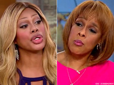 WATCH: Laverne Cox Schools Gayle King on Respect for Gender Identity