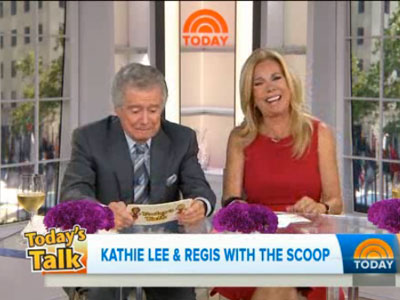WATCH: Today Show Musical Coming, With Regis and Kathie Lee