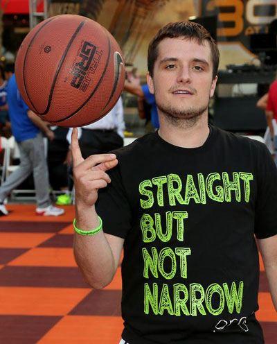 PHOTOS: Josh Hutcherson Scores Big With LGBT Youth Event