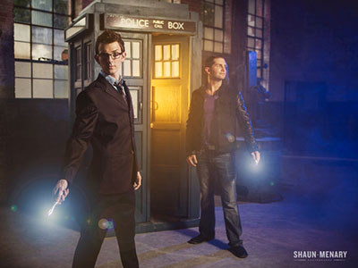 Gay Doctor Who Fans Win the Internet with Adorable Engagement Photos