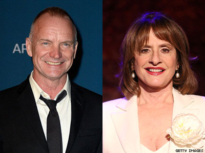 Sting and Patti LuPone to Headline Concert for Global Equality