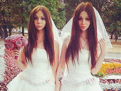 Surprise! Meet Russia's First Legally Married Brides