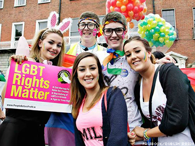 Ahead of Next Year's Expected Vote, Vast Majority of Irish Support Marriage Equality