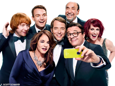 First Look: It's Only a Play Cast Reenacts Ellen's Oscar Selfie