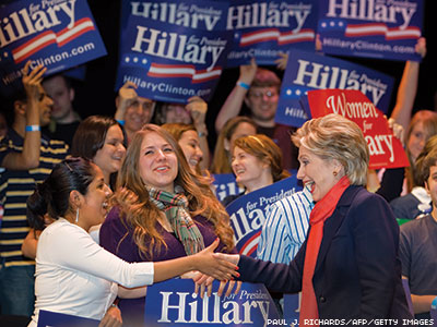 Clinton's New Challenge: The Millennials
