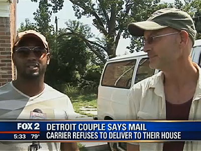 WATCH: Men Claim Mailman Won't Deliver Because They're Gay