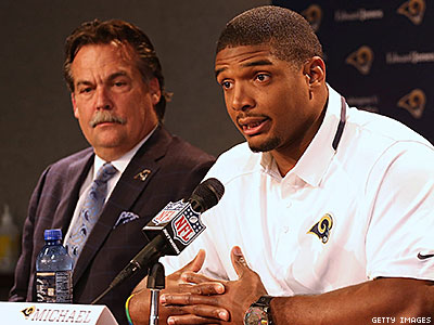 Rams Coach, Players Still Leery After ESPN's Michael Sam Shower Report