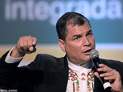 Ecuadorian President Defends Civil Union Rights