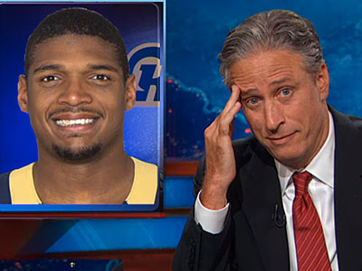 WATCH: Michael Sam Should 'Gay It Up,' Says Daily Show