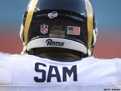 Michael Sam Not Signed to Rams Practice Squad