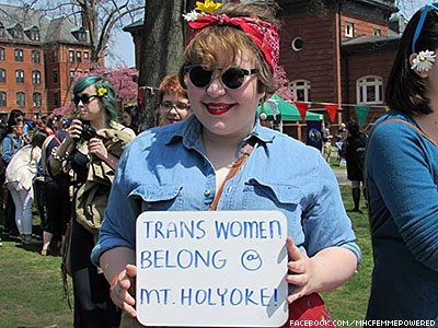 WATCH: Mt. Holyoke Becomes First 'Seven Sisters' School to Admit Trans Women