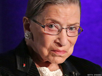 Ruth Bader Ginsburg on Marriage Decision: 'No Need For Us to Rush'
