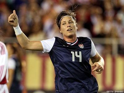 Abby Wambach On Winning Her Wife And The Elusive World Cup