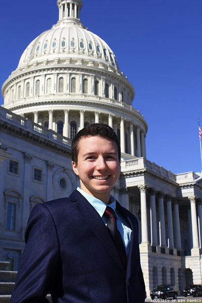 WATCH: Meet the Only Out Trans Staffer on Capitol Hill