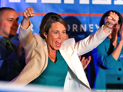 Healey Elected First Out State Attorney General