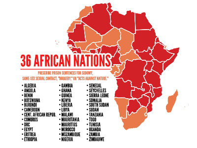 The State of LGBT Equality in Africa