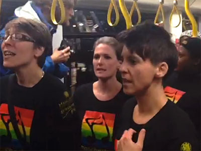 WATCH: Wicked Sing-along Heals Manchester After Antigay Attack
