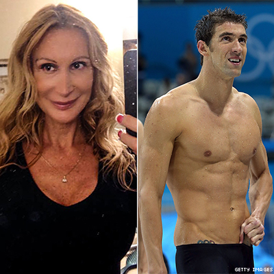 Another Lap For Michael Phelpss Self Proclaimed Girlfriend