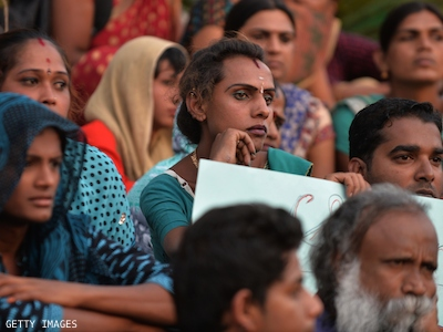 167 Indian Trans Women 'Arbitrarily' Jailed, Protestors Demand Justice
