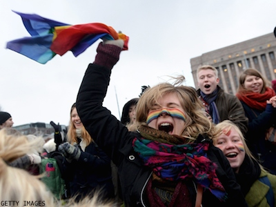 Marriage Equality Comes to Finland