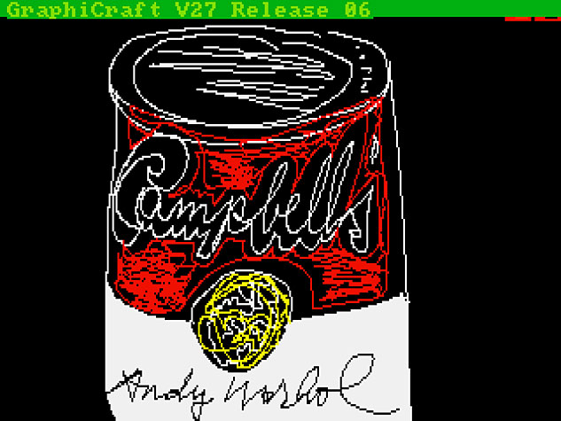 2 Andy Warhol Campbells 1985 AWFX633 0