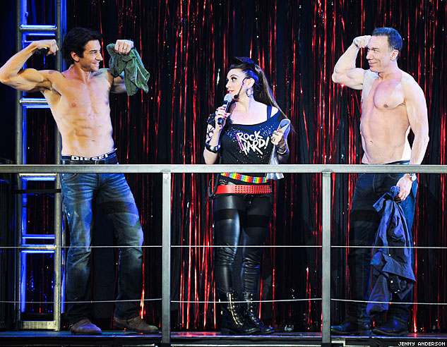 Andy Karl Lesli Margherita Patrick Page Photo By Jenny Andersonx633 0