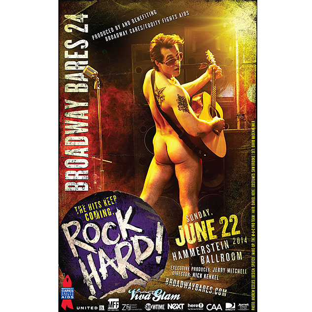 Broadway Bares 24 Poster 2 Vince OddoX633 0