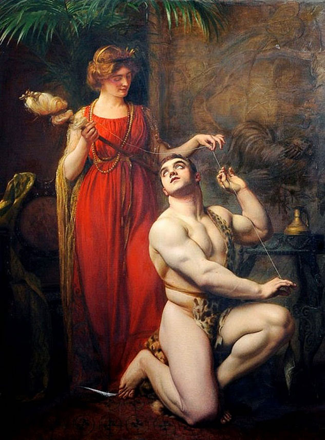 Gustave Courtois Hercules At The Feet Of Omphale 1912x633 0