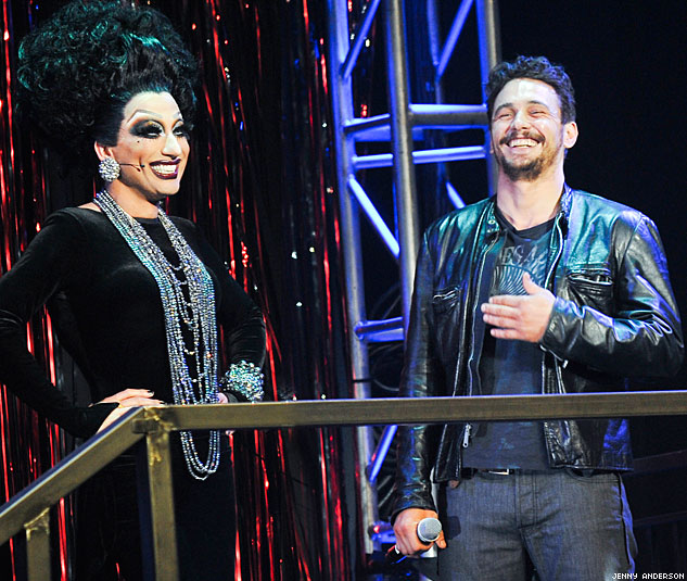 James Franco Bianca Del Rio Photo By Jenny AndersonX633 0
